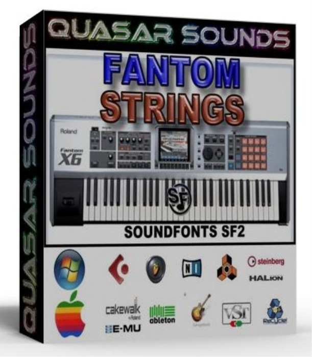 First Additional product image for - Fantom Orchestra Strings Samples Wave Kontakt Reason Logic