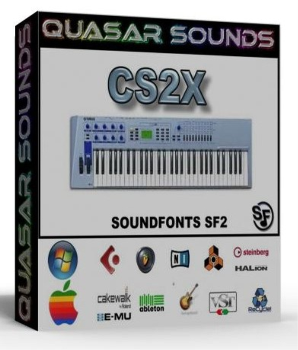 First Additional product image for - Yamaha Cs2x Samples Wave Kontakt Reason Logic Halion