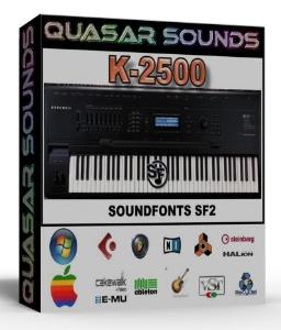 Kurzweil K-2500 Samples Wave Kontakt Reason Logic Halion | Music | Soundbanks