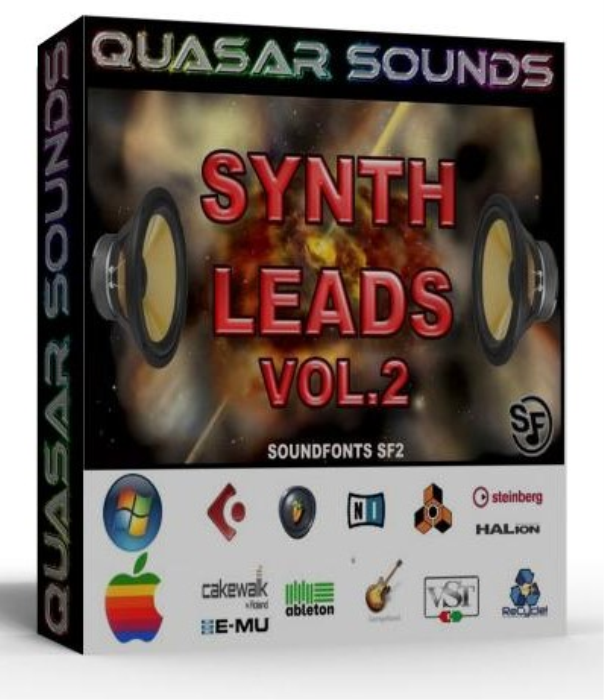 First Additional product image for - Synth Leads Vol. 2 – Wave Kontakt Reason Logic Halion