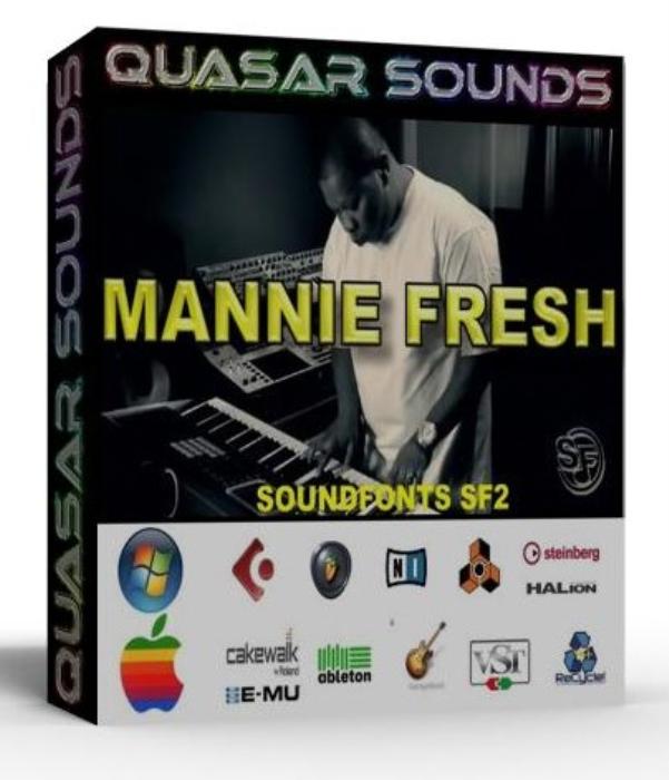 First Additional product image for - Mannie Fresh Samples Wave Kontakt Reason Logic Halion