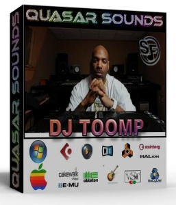 dj toomp samples kit wave kontakt reason logic halion