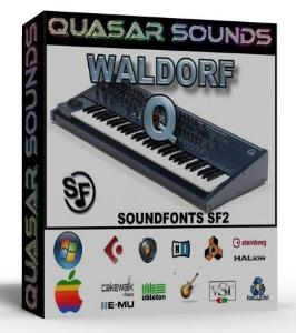 Waldorf Q Samples Wave Kontakt Reason Logic Halion | Music | Soundbanks