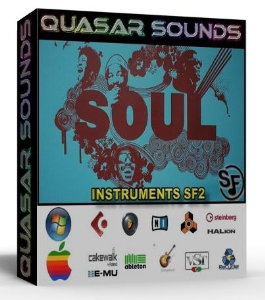 soul instruments – drums – wave kontakt reason logic halion