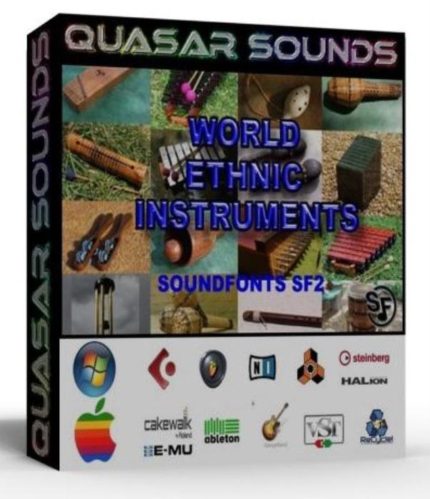 First Additional product image for - World & Ethnic Instruments – Wave Kontakt Reason Logic