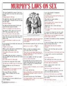 murphy's sex laws