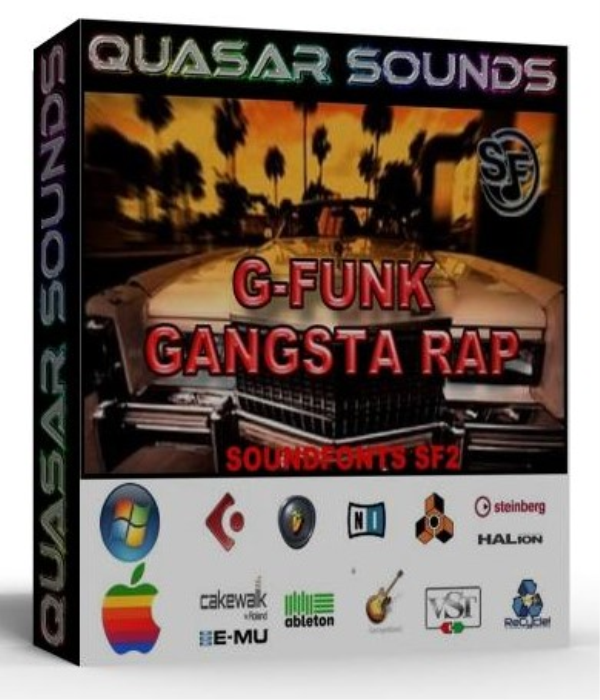 First Additional product image for - G-Funk & Gangsta Rap Samples – Wave Kontakt Reason Logic
