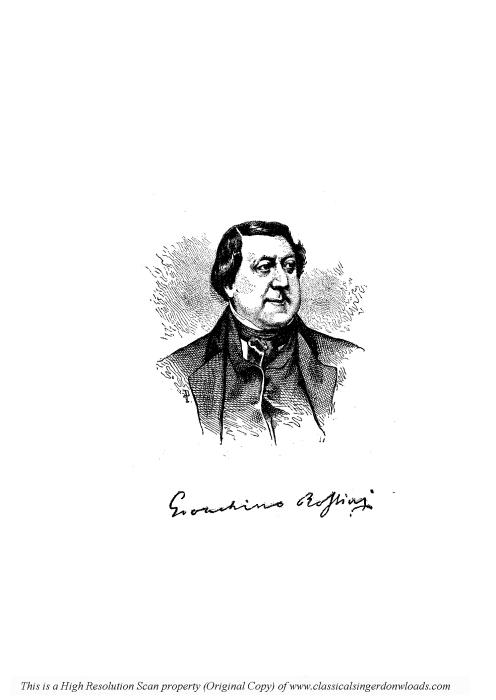 Second Additional product image for - Di piacer mi balza il cor (Cavatina for Soprano). G. Rossini: La gazza ladra, Vocal Score. Ed. Ricordi, italian.(1876)