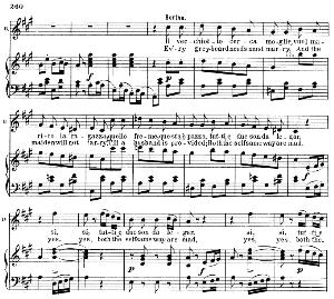 il vecchiotto cerca moglie. soprano aria (bertha). g. rossini: il barbiere di siviglia (the barber of seville), vocal score. ed. schirmer, it/engl. (1900)