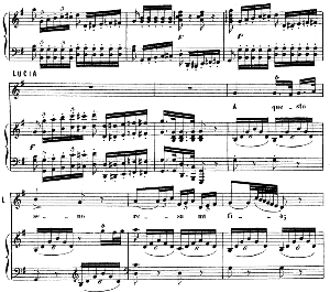 Ora mi par che il core... A questo seno resa mi fia. Recitative and Aria for Mezzo (Lucia). G. Rossini: La gazza ladra. Vocal Score. Ed. Ricordi, 1876, italian. | eBooks | Sheet Music