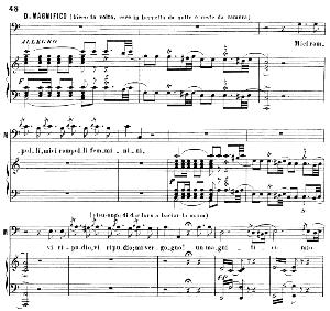 miei rampolli femminini. aria for bass (don magnifico). g. rossini: la cenerentola, vocal score. ed. ricordi. 1878, italian.