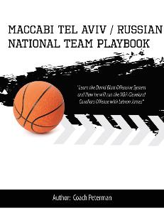 Maccabi Tel Aviv |  Russian National Team Playbook | eBooks | Sports
