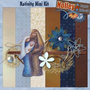 nativity mini kit