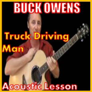 learn to play truck driving man by buck owens