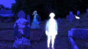 graveyard w/ghosts