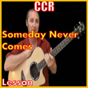 Learn to play Someday Never Comes by CCR   Movies and Videos   Educational
