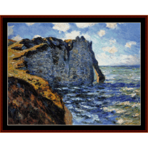 The Manneport - Monet cross stitch pattern by Cross Stitch Collectibles | Crafting | Cross-Stitch | Wall Hangings