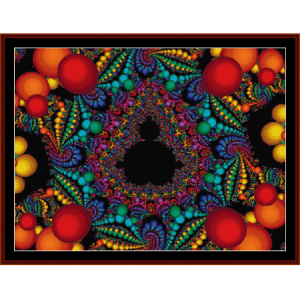 Fractal 460 cross stitch pattern by Cross Stitch Collectibles | Crafting | Cross-Stitch | Wall Hangings
