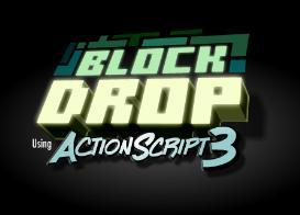 actionscript 3 block-drop game