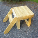 Goat Stand Wood Plans   eBooks   Home and Garden