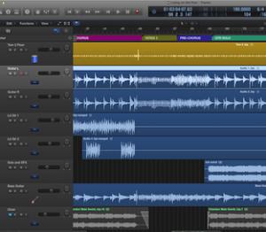 living on the run - logic pro x multi-track session
