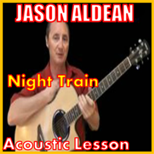 learn to play night train by jason aldean