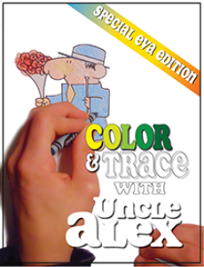 coloring tracing book