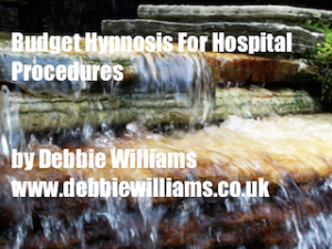 budget hypnosis for hospital procedures