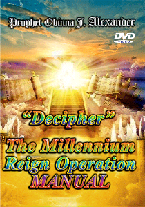 decipher, the millenium reign operation manual.