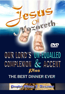 jesus of nazareth. our lord's un-equalled complexion & accent plus the best dinner ever.