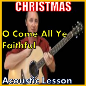 learn to play oh come all ye faithful (kproducts)