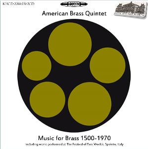 music for brass 1500-1970 - american brass quintet