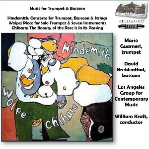 music for trumpet & bassoon - mario guarneri/david breidenthal