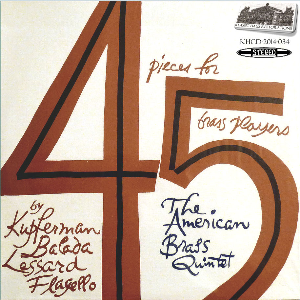 4 pieces for 5 brass players - american brass quintet