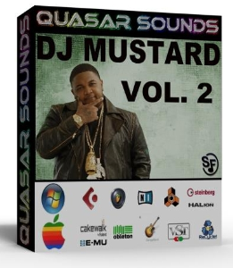 new original  dj mustard drum & sound sample kit vol.2