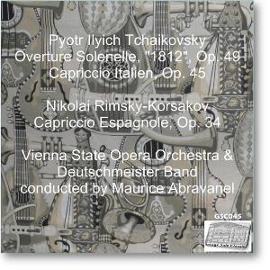 "Tchaikovsky: Overture Solenelle ""1812""; Capriccio Italien; R-k: Capriccio Espagnol - VSOO/Abravanel | Music | Classical"