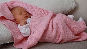 BabyKnittingPatterns - 0001B SOFIA - Babydecke-(Deutsch) | Crafting | Knitting | Other