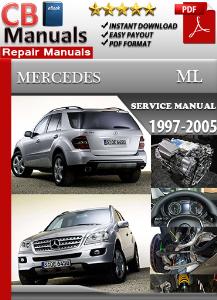 mercedes benz ml 1997-2005 service repair manual