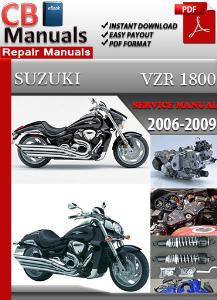 suzuki vzr 1800 2006-2009 service manual