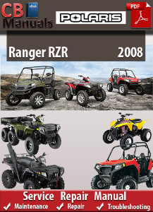 Polaris Ranger RZR 2008 Service Repair Manual | eBooks | Automotive
