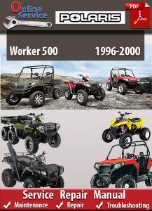 polaris worker 500 1996-2000 service repair manual