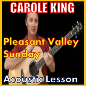 learn to play pleasant valley sunday by carole king