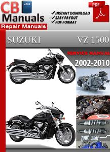 suzuki vz 1500 2002-2010 service repair manual