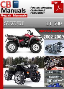 Suzuki Lt 500 2002-2009 Service Repair Manual | eBooks | Automotive