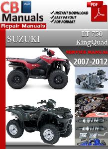 suzuki lt 750 king quad 2007-2012 service manual