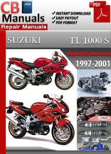 suzuki tl 1000 s 1997-2001 service repair manual