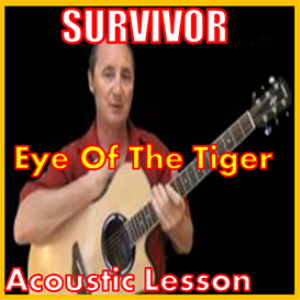 learn to play eye of the tiger by survivor
