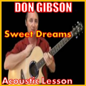 learn to play sweet dreams by don gibson