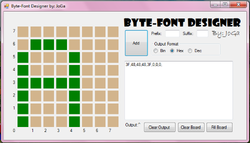 First Additional product image for - Byte-Font Designer