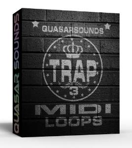 trap midi loops vol.3
